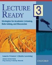 Lecture Ready 3 Student Book: Strategies for Academic Listening, Note-taking, an