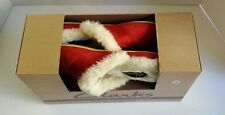 Clark's Women's Red Slippers Indoor Outdoor Leather Ladies Valentine Gift Size 7