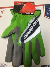New Snap On XLarge Green Work Gloves. Touch Screen Compatible.