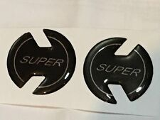 Ford Anglia 123E Super Pillar Badge - Self Adhesive (Pair)