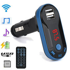 Bluetooth Wireless FM Transmitter MP3 Player Handsfree Car Kit USB TF SD Remote