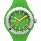 Intimes PETITE Watch GREEN 50M Water Resistant Womens Girls Sports Ice Silicone