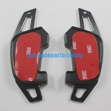 PM Black Aluminum DSG Paddle Shifter Extension for VW Golf GTI GTD GTE MK7 2015