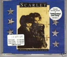 (A909) Scarlet, I Wanna Be Free - 1995 DJ CD