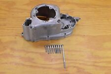 80 YAMAHA TRI MOTO 125 YT125 RIGHT SIDE ENGINE CRANKCASE COVER CLUTCH W/ BOLTS