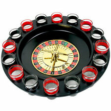 Drinking Roulette Adults Party Set After Dinner Glasses Spin Shot Game Stag Hen