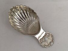 A Vintage Sterling Silver Tea Caddy Spoon, 1970 - Excellent