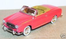 UNIVERSAL HOBBIES UH = NOREV METAL HO 1/87 PEUGEOT 403 CABRIOLET OUVERT COLOMBO