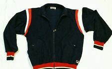 Vintage Fila Tennis Track Jacket Zip Off Sleeves Made in Italy size 40 Bjorn Era
