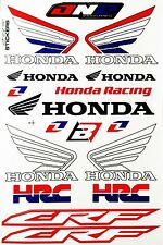Motocross Logo Motorcycle Helmet Sticker Sponsor Logo Graphic Kit Decal #L74
