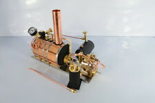 Twin Cylinder Marine Steam Engine + Boiler + Tank