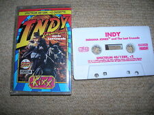 Indiana Jones and the Last Crusade - Rare Sinclair ZX Spectrum Game !!!