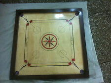 "WOODEN KDM CARROM BOARD 32*32"" &COINS 24 PCS AND STRIKER & POWDER FREE SHIP @UK"