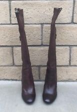 Fornarina Nico, Boots Knee High Glamour Boots, Coffee Color Size 9 $280.00 NIB