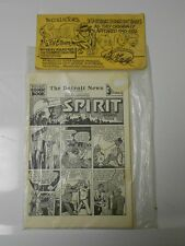 Will Eisner THE SPIRIT Collector Set 10 Comic Sections 50s SIGNED & SEALED NM #4