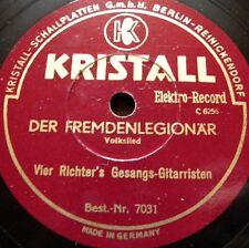0930/ DIE RICHTER´S-Der Fremdenlegionär-Der Wilddieb-HEIMATLIEDER-Schellack