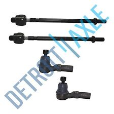 Brand New 4pc Front Inner and Outer Tie Rod Kit for Ford Probe / Mazda 626 MX-6