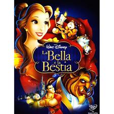 Disney *** LA BELLA E LA BESTIA Dvd *** sigillato