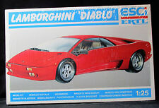 ESCI - ERTL LAMBORGHINI 'DIABLO' 1:25 Model Kit # 3508  NIB Sealed