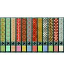 "File Art - 12 pitillo carpeta espalda Design etiquetas ""pattern""... 607+608"