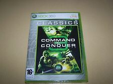 Command & Conquer 3 Tiberium Wars (Microsoft Xbox 360, 2007)  **New and Sealed**