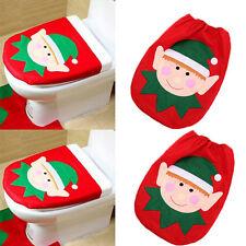 Navidad Bonito Elfo Muñecos De Nieve Navidad Adornos Decoración Inodoro