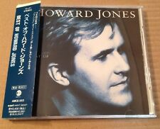 Howard Jones - Best Of. Very Rare Japanese Cd Album 1993 + OBI + Lyric Sheet