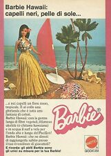 X9706 BARBIE Hawaii - Pubblicità 1975 - Advertising