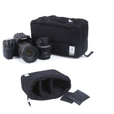 Shockproof SLR DSLR Camera Bag Case For Canon EOS Sony Nikon Lens Accessories