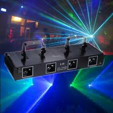 4 lens Laser Licht 380mW DMX Party Stadiums Disco Light Bühnenbeleuchtung Effekt