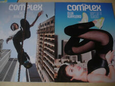 october november 2012 COMPLEX Olga Kurylenko & Wiz Khalifa cover Leah Labelle