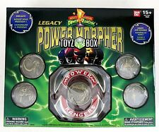 "In STOCK Mighty Morphin Power Rangers ""Legacy Edition Morpher"" Die Cast Replica"