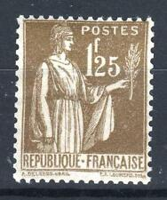 """FRANCE STAMP TIMBRE N° 287 """" TYPE PAIX 1F25 OLIVE """" NEUF xx TTB  P123"""