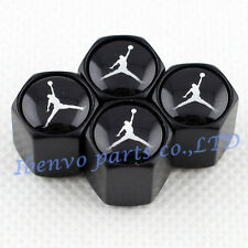 Black Styling Car Wheel Tyre Tire Stem Air Valve Cap For Slam Dunking Jordan DWG