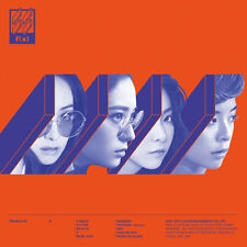 F(X) fx - [4 WALLS] VOL.4 4th Album CD+Booklet+Photocard K-POP Sealed SM TOWN