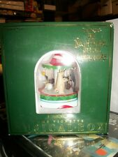 Tim Burton Nightmare Before Christmas MUSICAL BOX Dome Vignette NBX
