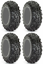 Four 4 Carlisle AT489 ATV Tires Set 2 Front 25x8-12 & 2 Rear 25x11-12 489 A/T