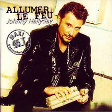 ★☆★ CD SINGLE Johnny HALLYDAY Allumer le feu REMIX CLUB 2-track CARD SLEEVE ★☆★