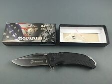 USMC US Marines Guardsman Black Messer knife - 01US010
