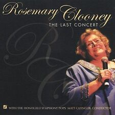 Clooney, Rosemary, The Last Concert Audio CD