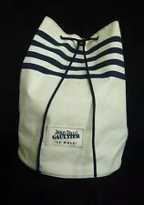 "1000% GENUINE JEAN PAUL GAULTIER ""LE MALE"" DRAWSTRING DUFFLE BAG"