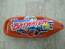 BAYWATCH LIFEGUARD FLOAT RESCUE CAN TORPEDO W/CARD RARE 1996