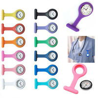 New Pin Up Silicone Nurse Watch FOB Brooch Tunic Medical Nurses Lightweight