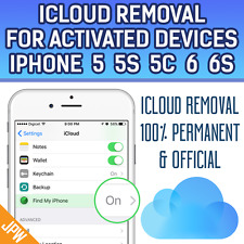 100% iCloud Remove Permanent for Activated Devices iPhone/iPad Any Model Any iOS