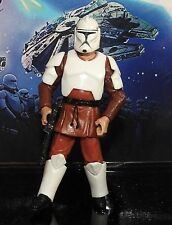 STAR WARS ACTION FIGURE CLONE TROOPER TRAINING FATIGUE 30TH ANNIVERSARY 2007