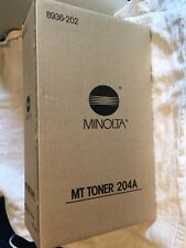 Minolta Copier Toner Cartridges 8936-202 Type MT-204A (2 CARTRIDGES) NIB