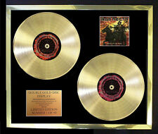 IRON MAIDEN DEATH ON THE ROAD DOUBLE ALBUM CD GOLD DISC FREE POSTAGE!!