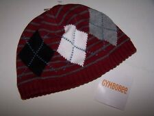 NWT GYMBOREE Pirate Adventure Red ARGYLE WINTER HAT SZ 5-7  Free US Shipping