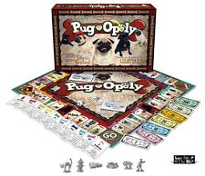 Pug-Opoly (PugOpoly) A Pug themed Monopoly Game NEW in BOX