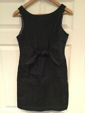 Holding Horses Anthropologie Dark Wash Denim Jumper Dress, Size 2P
